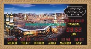jual jam digital masjid di slawi