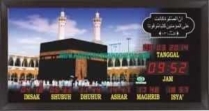 jual jam masjid digital di yogyakarta