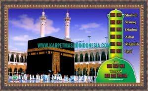 jam masjid murah