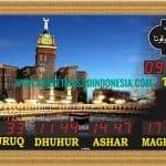 jam masjid digital di bekasi