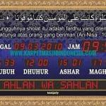 jam digital masjid banjarmasin