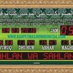 jual jam masjid digital di bekasi