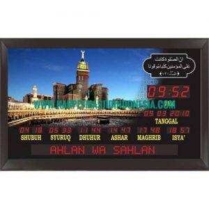 jam digital masjid di tegal