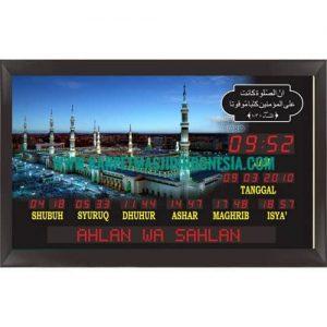 jam digital masjid di slawi